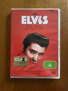 ELVIS THE KING OF ROCK 'N' ROLL (G) DVD FREE POSTAGE OZ SELLER