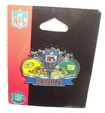 GREEN BAY PACKERS VS. NEW YORK GIANTS PLAYOFFS GAMEDAY  PIN NEW IN PACKAGE
