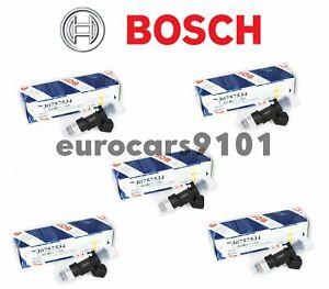 Volvo S60 Bosch Fuel Injectors 0280158315 30757534 Set of 5