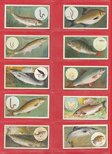 Complete/Full Sets Fish/Sea Collectable Cigarette Cards
