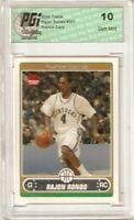 Rajon Rondo 2006 Topps #251 Celtics Rookie Card PGI 10