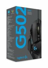 Logitech G502 Hero Maus Gaming mit Sensor RGB, 11 Tasten