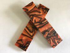 """Kirinite: Tigre du Bengale 3/8"""" 6"""" x 1.5"""" échelles pour travail du bois, knife Making"""