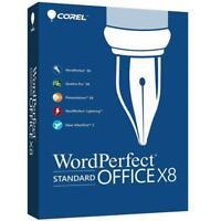 Corel WordPerfect Office X8 Standard Edition (on USB Flash Drive) Key Card