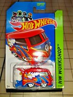 Hot Wheels Volkswagen Kool Kombi Diecast Red HW Workshop 201/250