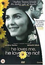 HE LOVES ME, HE LOVES ME NOT GENUINE R2 DVD AUDREY TAUTOU NEW/SEALED