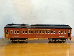 Nice MTH Tinplate Traditions 3245 Olympian Coach Car In Box (Standard Gauge)