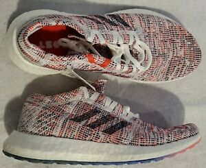 Adidas Women's Size 7.5 PureBoost GO Running Shoes Shock Red Maroon Pink B75829