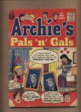 Archie's Pals 'n' Gals #6 (FR+) Betty; Veronica; Silver Age; 1958 (c#15043)