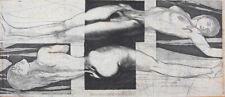 Ernst Fuchs - Liegende - Radierung - handsigniert