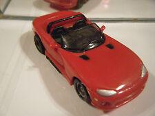 TYCO Red  DODGE Viper HO SLOT CAR NICE CAR! HP 7 U-TURN CHASSIS  new