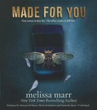 Made for You by Melissa Marr (2014, CD)