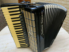 "Settimio Soprani Vintage PRO PIANO ACCORDION 120 BASS 19"" keyboard Fisarmonica"