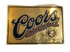 """2002 Coors Beer Tin Metal Sign 24""""×16.5"""""""