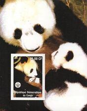 Congo Sheet Animal Kingdom Postal Stamps