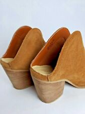 Chinese laundry suede ankle booties boots  cognac sz 8.5