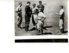 EARLY 1940'S PHOTO BROOKLYN DODGERS INCLUDING LEO DUROCHER, PEE WEE REESE & MORE