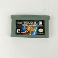 Star Wars The New Droid Army Nintendo Game Boy Advance 2002