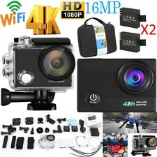 Ultra 4K 16MP HD 1080P WiFi Action Camera Waterproof Sport Camcorder USA