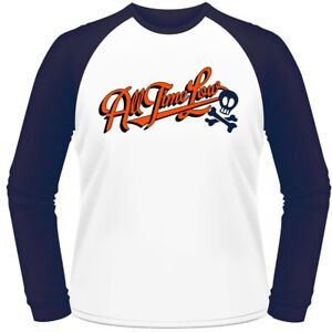 All Time Low Batter Up Baseball tee - Large