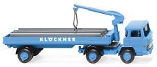 """Wiking 050205 Baustoffwagen (Magirus 135 D 11 FS) """"Klöckner"""" 1:87 (H0)"""
