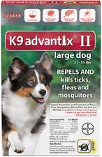 K 9 Advantix II Flea Control 21 55 Lbs 4 Dose