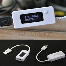 Mini LCD USB Voltage and Current Detector Mobile Power USB Charger Tester Meter