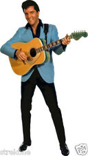 Young ELVIS PRESLEY playing Guitar Full Body - Window Cling Sticker Decal - NEW