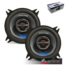 """ALPINE SPS-410 Car Audio 4"""" 2-Way Type-S Stereo Coaxial Speakers 140W New"""