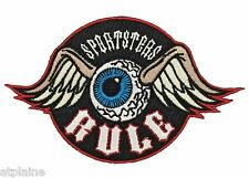 Patch brodé SPORTSTERS RULE - Style BIKER HARLEY
