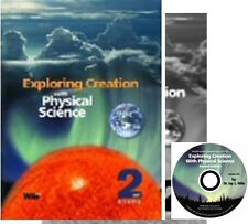 NEW~APOLOGIA EXPLORING CREATION PHYSICAL SCIENCE COMPLETE SET HOMESCHOOL +CD-ROM