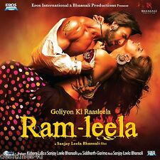 RAM LEELA - BOLLYWOOD ORIGINAL CD [RAMLEELA] - FREE POST