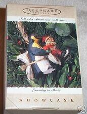 1995 HALLMARK LEARNING TO SKATE FOLK ART BOOK VALUE $37