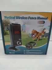 Justpet Wireless Dog Fence Vertical Pet Containment System S-35 (Open Box)