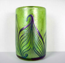 Verre Art nouveau signé R. Held Art Glass c1900 jugendstill Robert Held H :10 cm