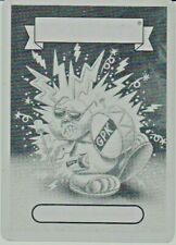 2019 GARBAGE PAIL KIDS WE HATE THE 90'S PRINTING PLATE ENERGIZED EDISON RARE GPK