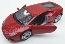 Spedizione LAMPO Lamborghini Huracan LP 610-4 Rosso Welly Modello Auto 1:34 NUOVO OVP