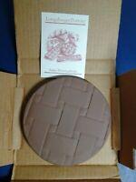 Longaberger Button Basket Brick #30198 Brand New in Box
