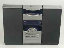 White-Westinghouse Mwc-13221 Vertical Am Fm Cd Cassette Stereo System Tested