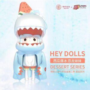 HEY DOLLS Blind box - open box - Umasou Watermelon Shave Ice Designer Toy