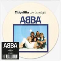 """ABBA - CHIQUITITA (LIMITED 7"""" PICTURE DISC)   VINYL LP SINGLE NEW+"""