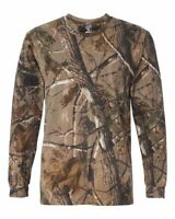 Code Five Adult Realtree Camouflage Long Sleeve Shirt Hunting Fishing Camo 3981