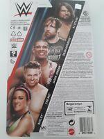 WWE Mattel Series 87 Figures-AJ Styles,Dean Ambrose,Jason Jordan,Miz,Bayley