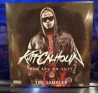 Kutt Calhoun - Raw Un-kutt Sampler CD SEALED Tech n9ne krizz rap album promo