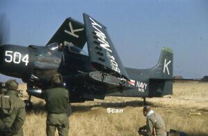 Original 35 mm Slide Korean War/Military Taken by US soldier 1950-1953 #K095