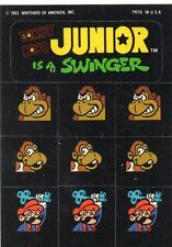 Donkey Kong Jr. Sticker - Nintendo 1983 -  Game Watch telespiel konsole games