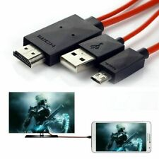 MICRO USB TO HDMI 1080P HD TV MHL LEAD CABLE FOR ANDROID PHONE LCD LED
