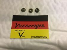 VW GOLF MK2 GENUINE REAR TAILGATE BOOTLID SPOILER NUTS 8mm