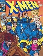 1993 Marvel Comics - 'Unused' X-Men Sticker Activity Album - Near Mint