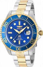 Invicta 20144 Pro Diver Men's Watch - Silver/Gold/Blue